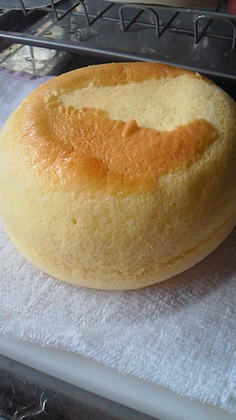 炊飯器deシフォンケーキ