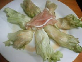 ☆ポン酢で簡単レタスのホットサラダ☆