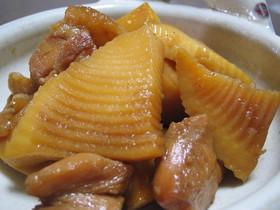 筍と鶏肉の超カンタン♪煮物