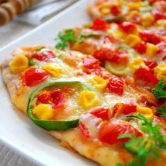 簡単・美味しい♪ ささみ☆ピザ