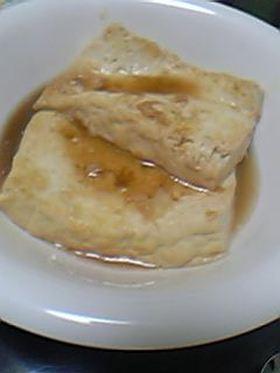 簡単!豆腐のステーキ