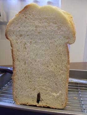 HBで簡単に!ふわふわ食パン