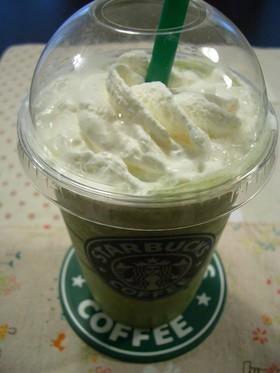 スタバ風☆抹茶クリームフラペチーノ