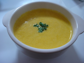 簡単❤応用の効く かぼちゃのスープ