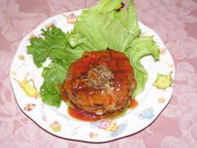 豆腐&ひじきのチーズバーグ