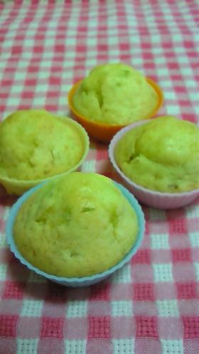 バター・牛乳なし★キャベツの米粉マフィン