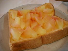 ほっとりんごトースト