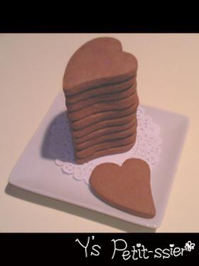 とろけるオトナ味♥チョコ生クッキー