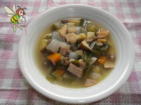小豆野菜スープ