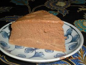 経済的なチョコレートチーズスフレケーキ