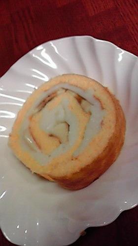 ♥もっちりロールケーキ♥