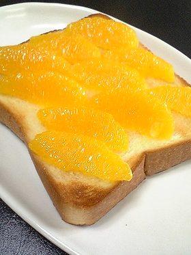 じゅわっと爽やか★ハニーオレンジトースト
