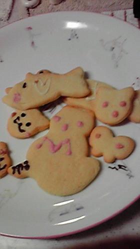 サクサク♪お絵かきクッキー