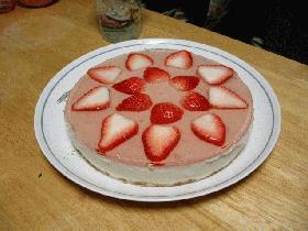 初レシピ♪豆腐入りチーズケーキ