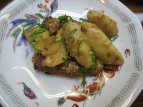 里芋と手羽先の甘辛煮