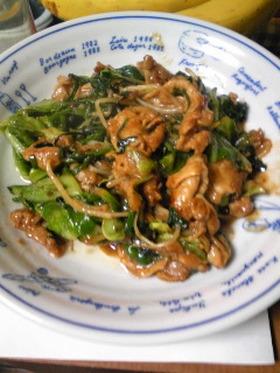 豚肉のニンニク味噌炒め