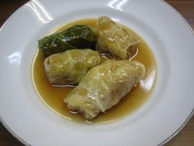 中華風ロールキャベツ