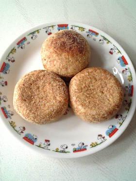 香ばしい~♪こんがり小麦胚芽のパン