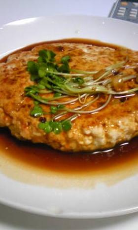 ヘルシー♪豆腐ハンバーグ