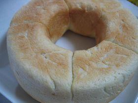 レトロ!アルミのパン焼き器でパン!