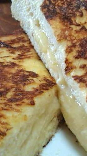 とろ〜りチーズのフレンチトースト♡