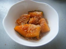甘辛でおいしぃ☆かぼちゃのごま味噌煮☆