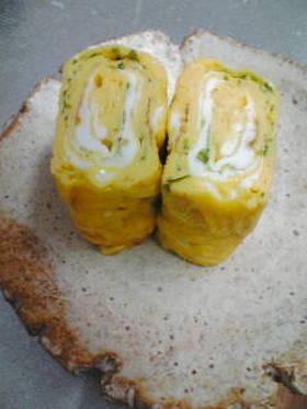 卵1個でふんわり卵焼き(^^)