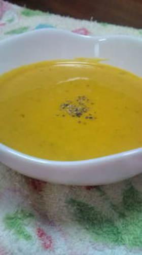 うちのかぼちゃスープ^^