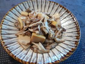 しゃきしゃき大根とタケノコの炒め物