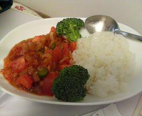トマトと玉ねぎの即効炒め物