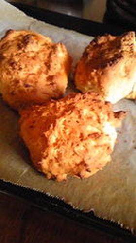 材料2つ!簡単バナナスコーンor蒸しパン
