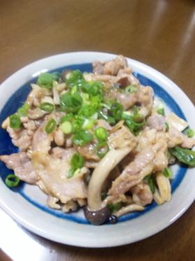 ★豚肉&きのこの中華炒め★