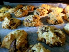簡単☆板チョコ奮発クッキー