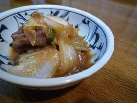 豚バラと白菜のとろとろ煮