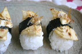 たけのこのお寿司