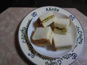 バナナ&キウイジャムのサンドイッチ
