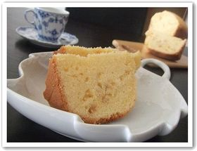 ホームベーカリー de 簡単レモンケーキ