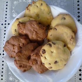 低脂肪☆アメリカンチョコチップクッキー