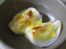 新玉ねぎのチーズ焼き