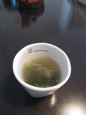 あっちゅ~まの,もやし中華スープ