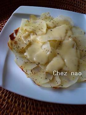 朝食に!スライスポテト&チーズ
