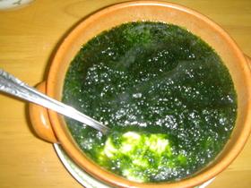 茶碗蒸し生のりソース