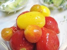 プチトマトの甘酢漬け