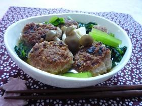 肉団子の煮物