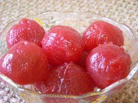 私の食べ方♡デザートっぽいプチトマト♡