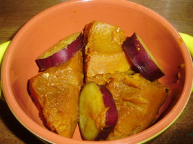かぼちゃとサツマイモの甘煮