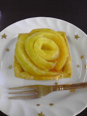 りんごカスタードタルト