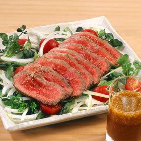 アスパラと牛たたきのサラダ