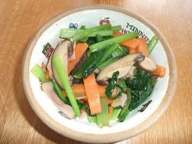 とっても簡単!小松菜のガーリックソテー
