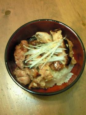 中華風☆鶏肉丼